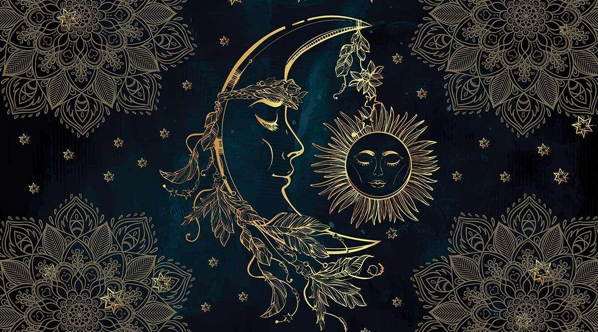 Maan en de zon